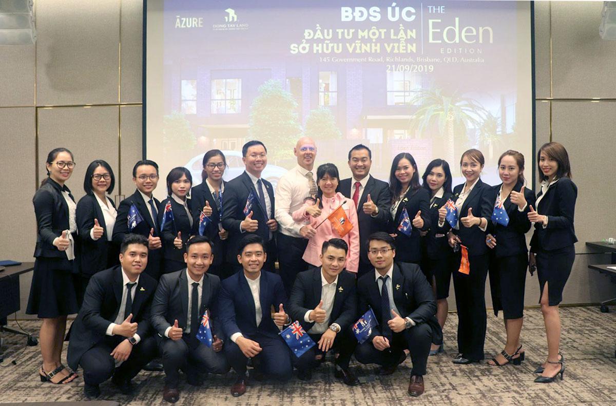 Core team Bất động sản nước ngoài Đông Tây Land